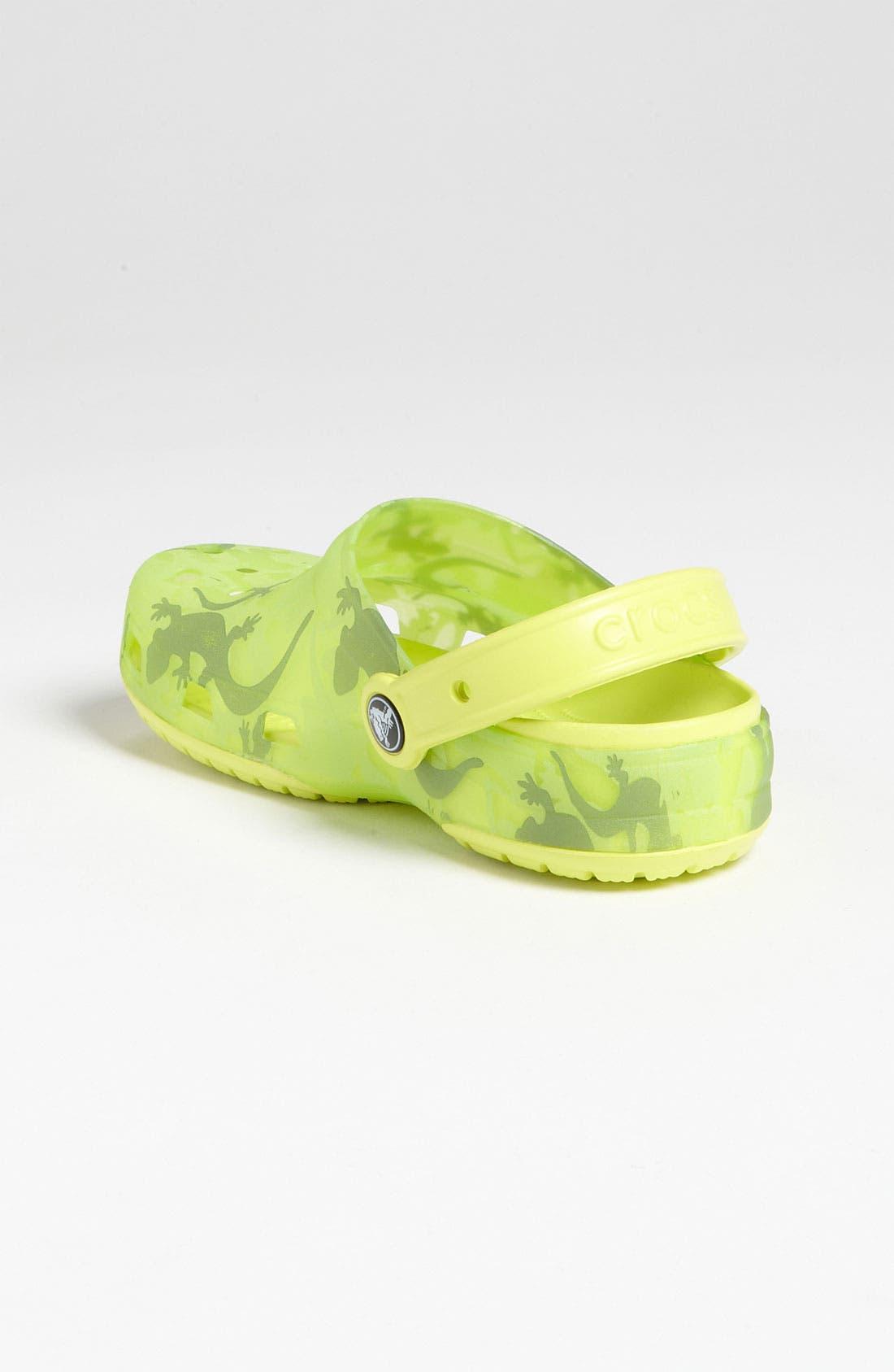 Alternate Image 2  - CROCS™ 'Chameleon Lizard' Slip-On (Walker, Toddler & Little Kid)