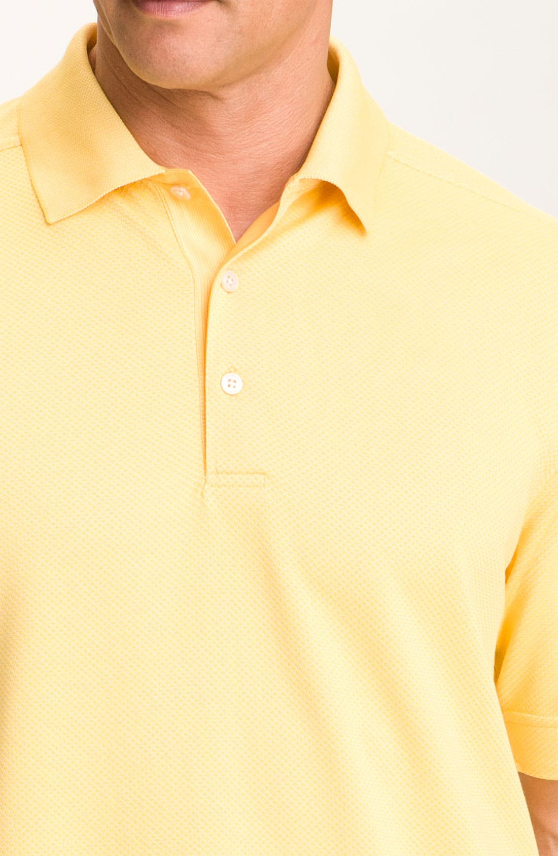 Alternate Image 3  - Cutter & Buck 'Nano' DryTec Golf Polo (Big & Tall)