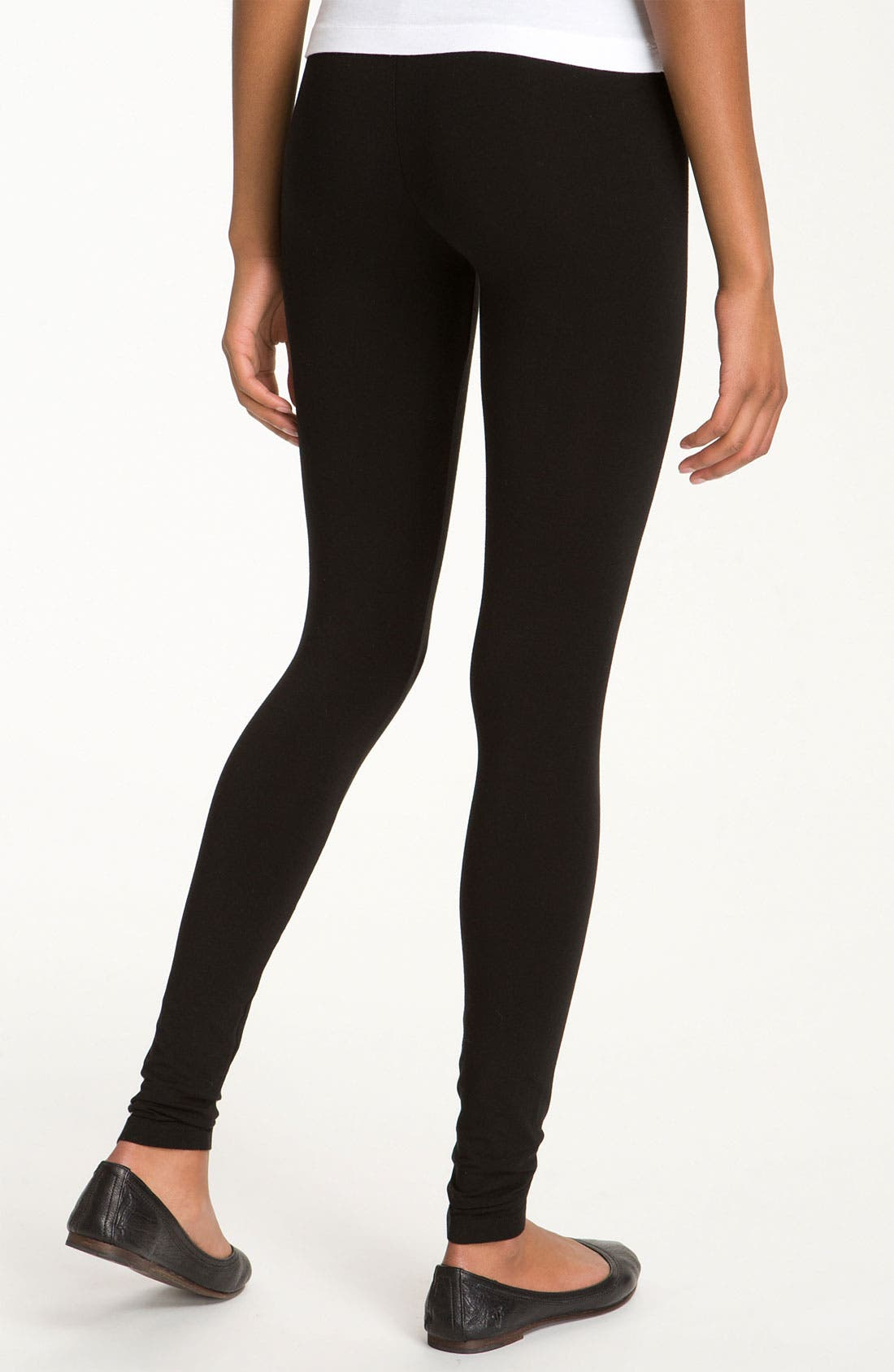 Alternate Image 2  - Splendid Stretch Cotton Leggings
