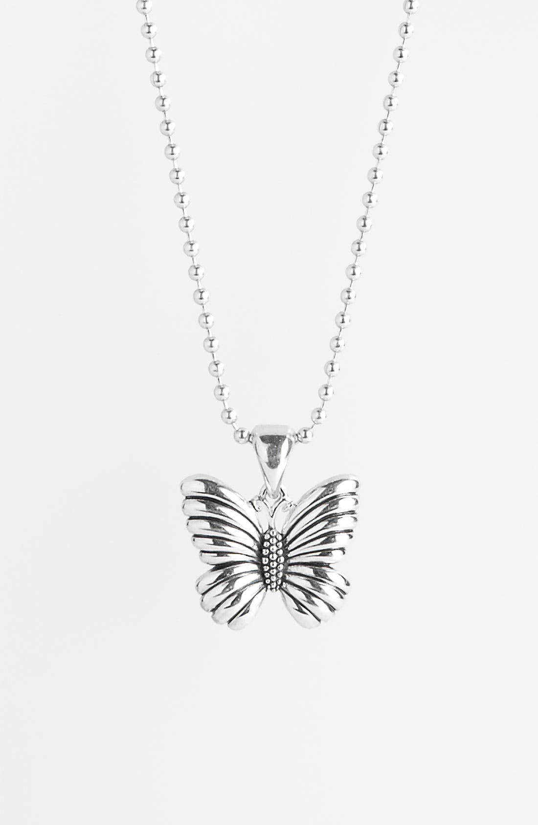 Alternate Image 1 Selected - Lagos 'Rare Wonders - Butterfly' Long Talisman Necklace