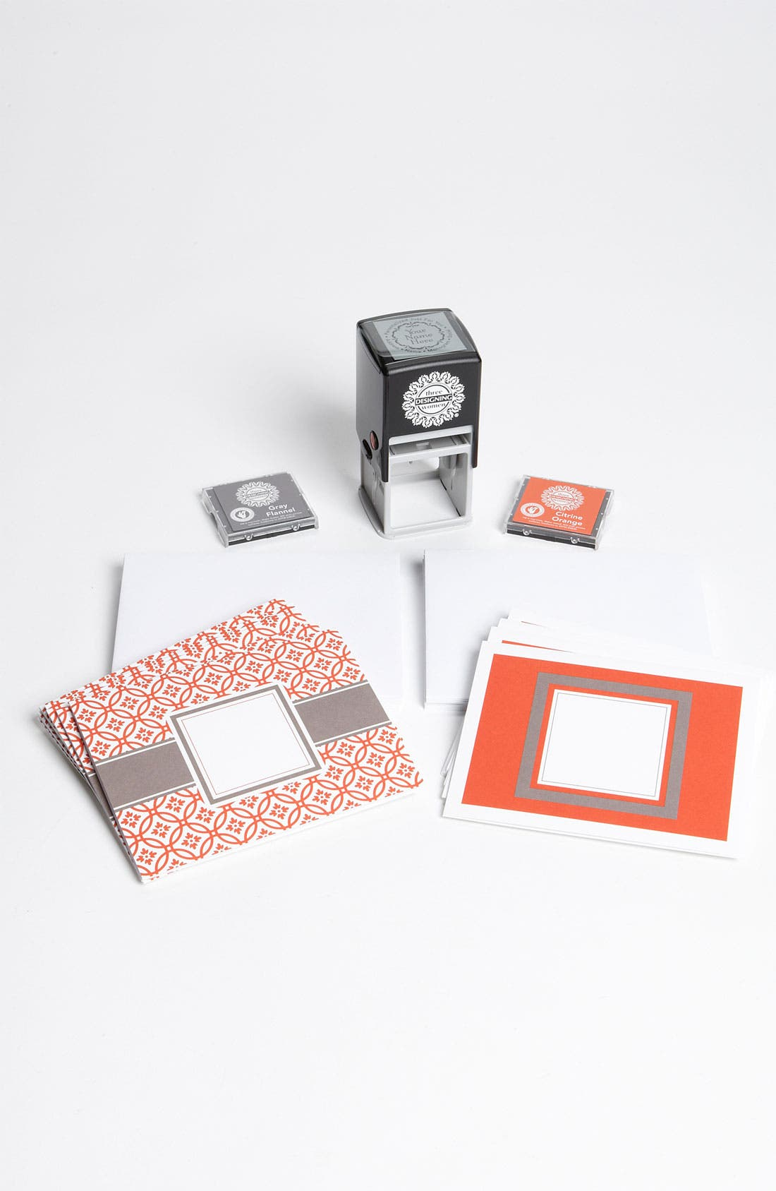 Alternate Image 1 Selected - Personalized Stamp & Note Card Set