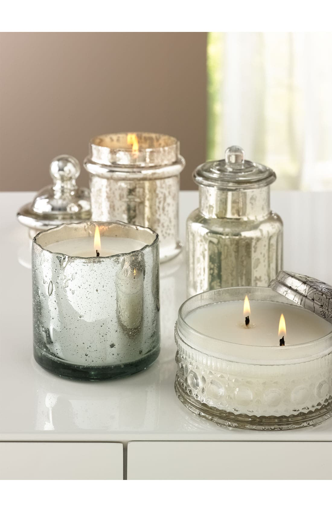 Alternate Image 3  - Himalayan Trading Post Silver Candy Jar Candle