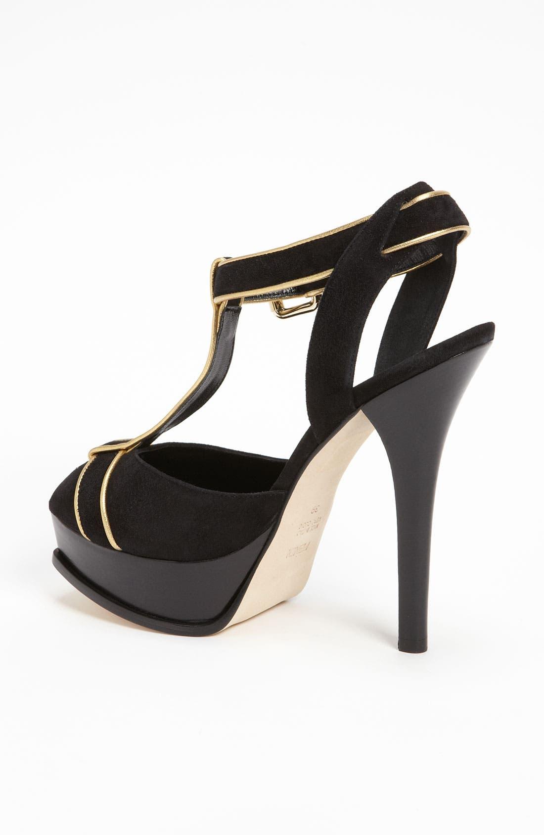 Alternate Image 2  - Fendi 'Fendista' Sandal