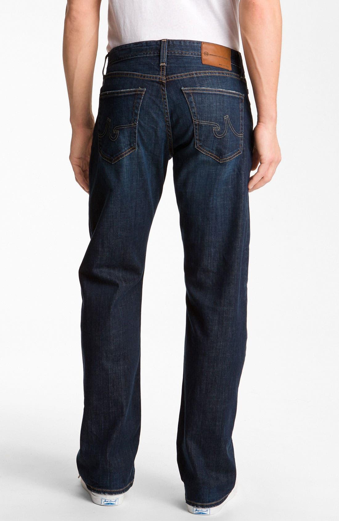Alternate Image 2  - AG Jeans 'Hero' Relaxed Fit Jeans (Kearney)