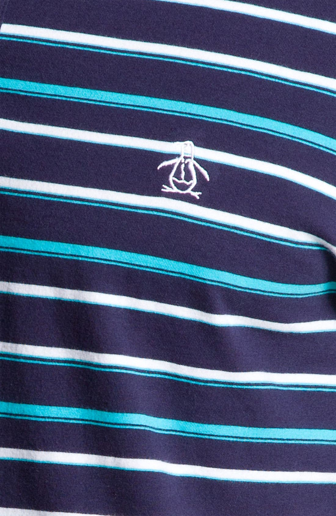 Alternate Image 3  - Original Penguin Stripe Polo