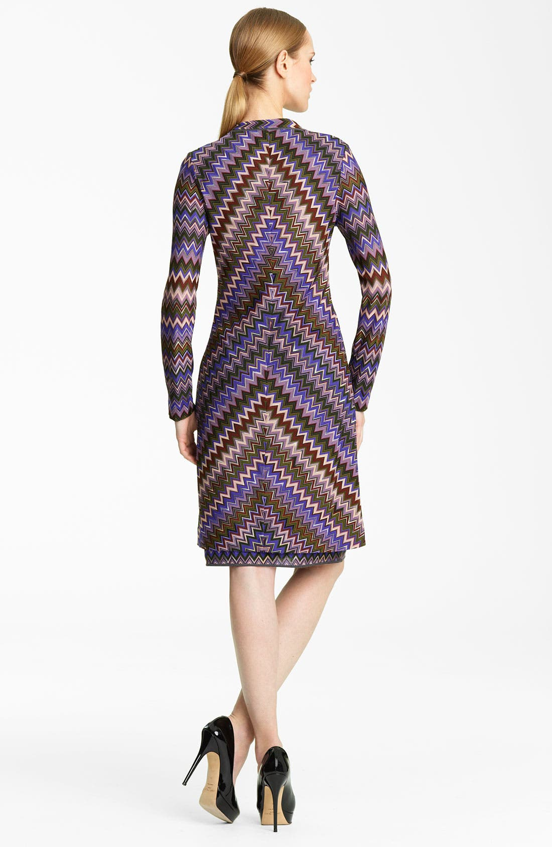 Alternate Image 2  - Missoni Long Zigzag Knit Cardigan