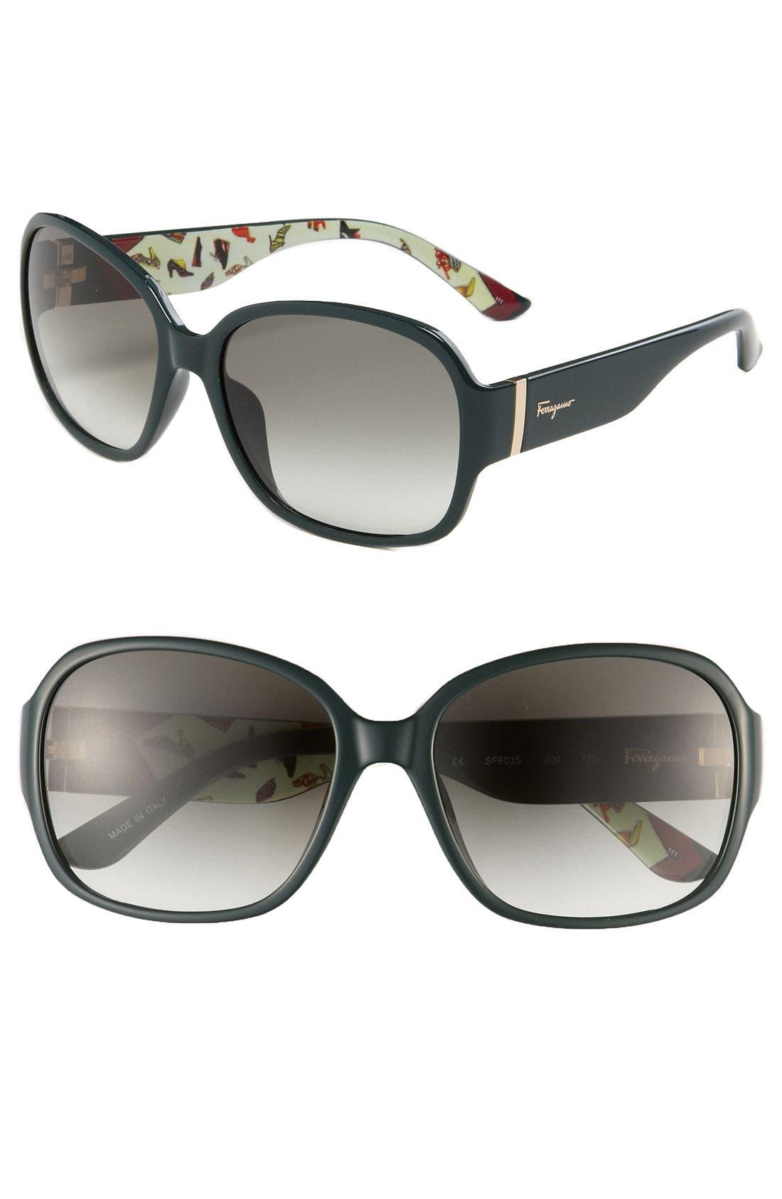 Alternate Image 1 Selected - Salvatore Ferragamo Sunglasses