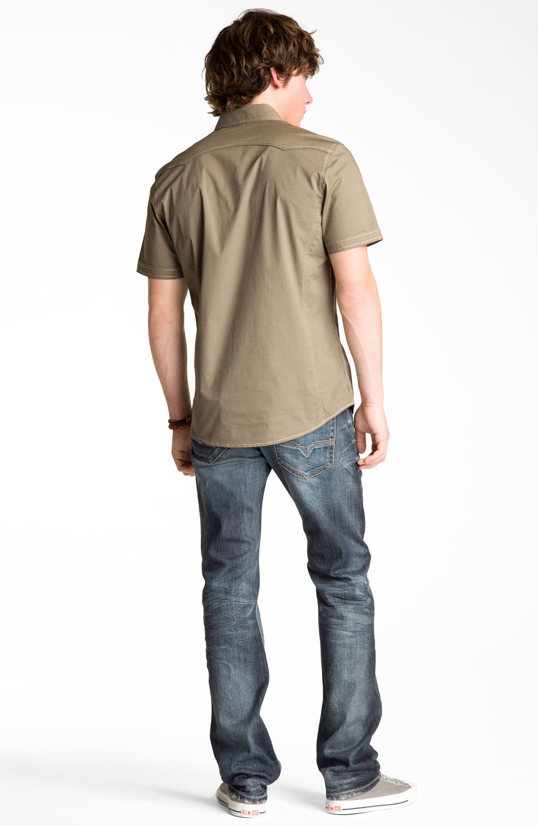 Alternate Image 3  - 7 Diamonds Trim Fit Shirt