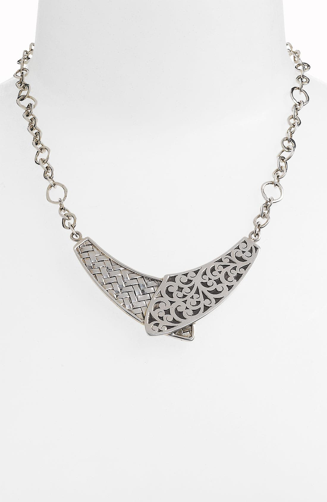 Main Image - Lois Hill 'Basket Weave' Collar Statement Necklace