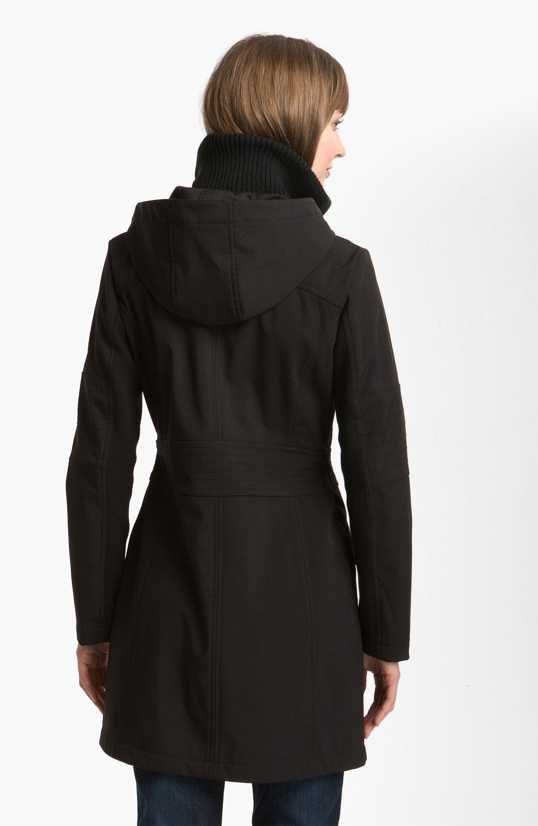 Alternate Image 2  - Miss Sixty Walker with Detachable Hood