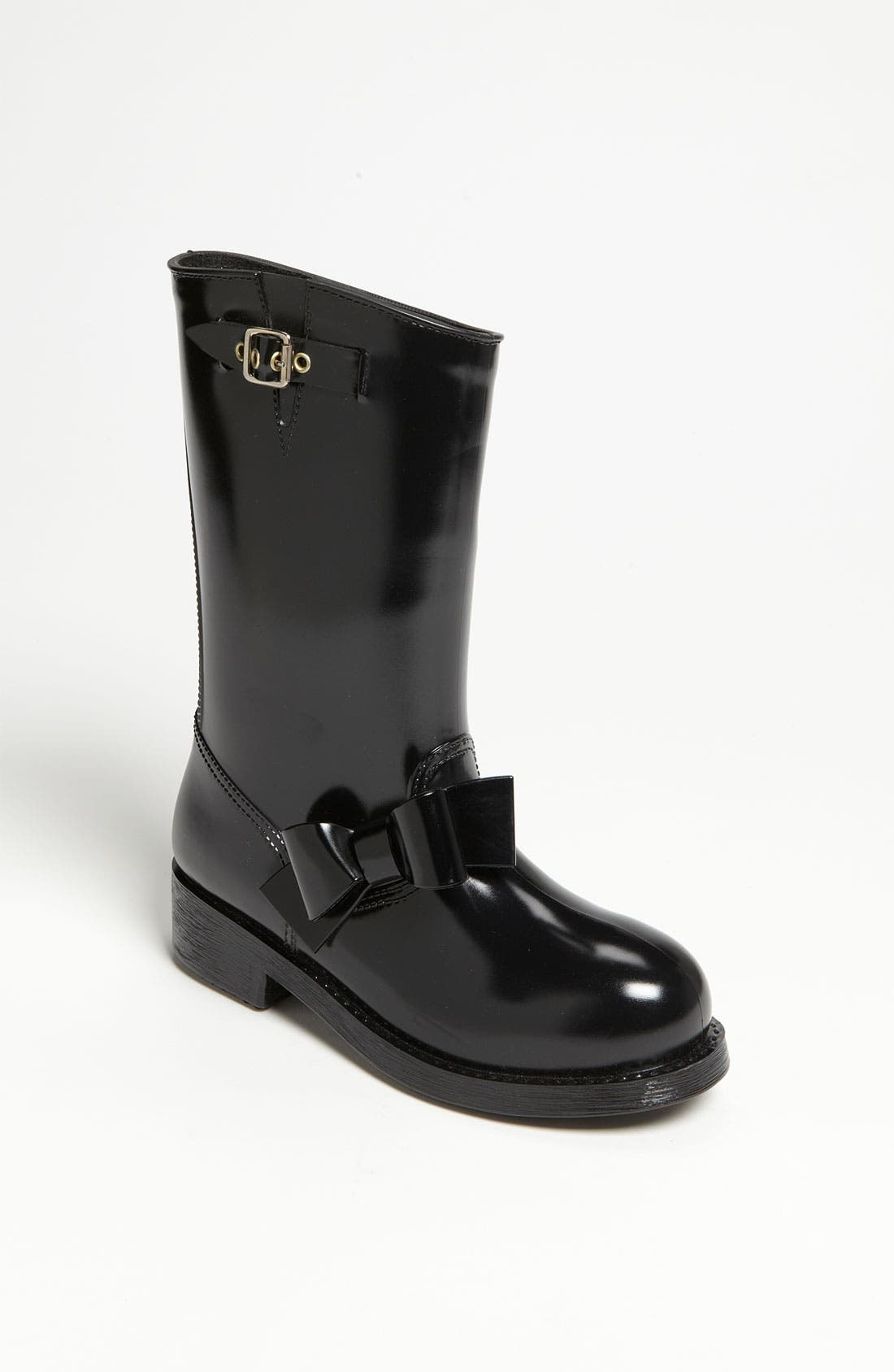 Alternate Image 1 Selected - RED Valentino Moto Rain Boot (Women)