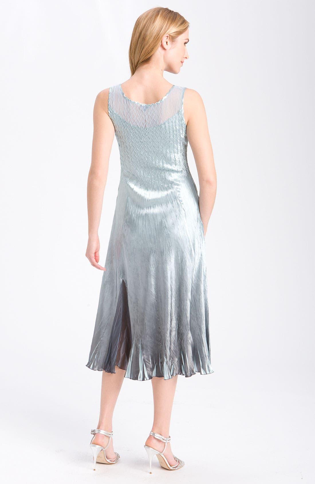 Alternate Image 3  - Komarov Sleeveless Chiffon Dress & Jacket