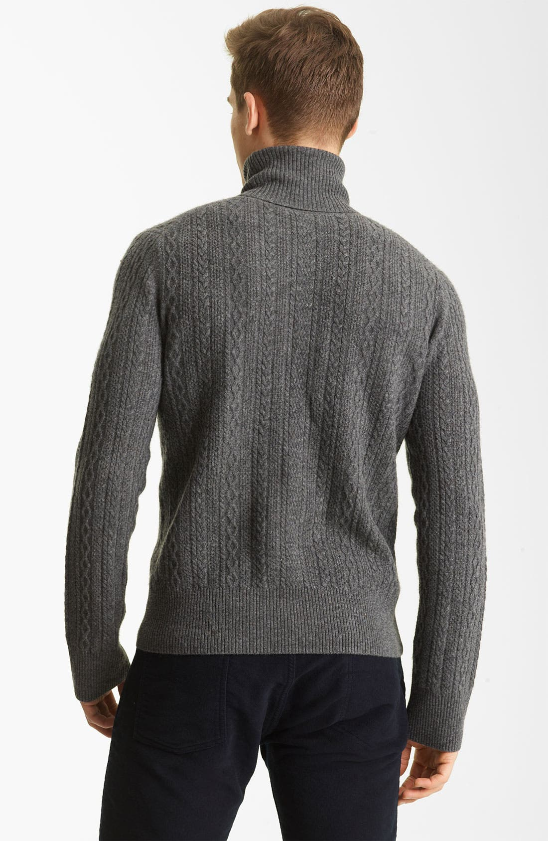 Alternate Image 2  - Billy Reid 'Elton' Cashmere Turtleneck Sweater