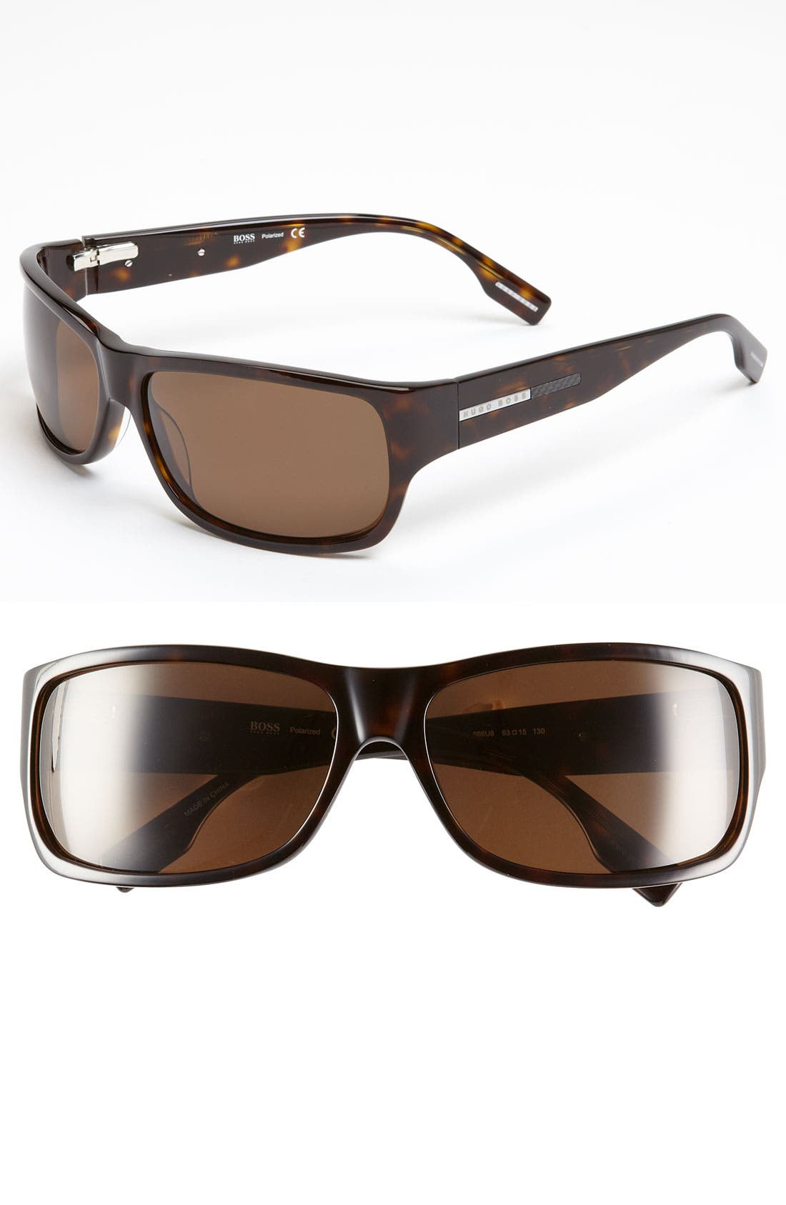 Alternate Image 1 Selected - BOSS Black Polarized 63mm Sunglasses