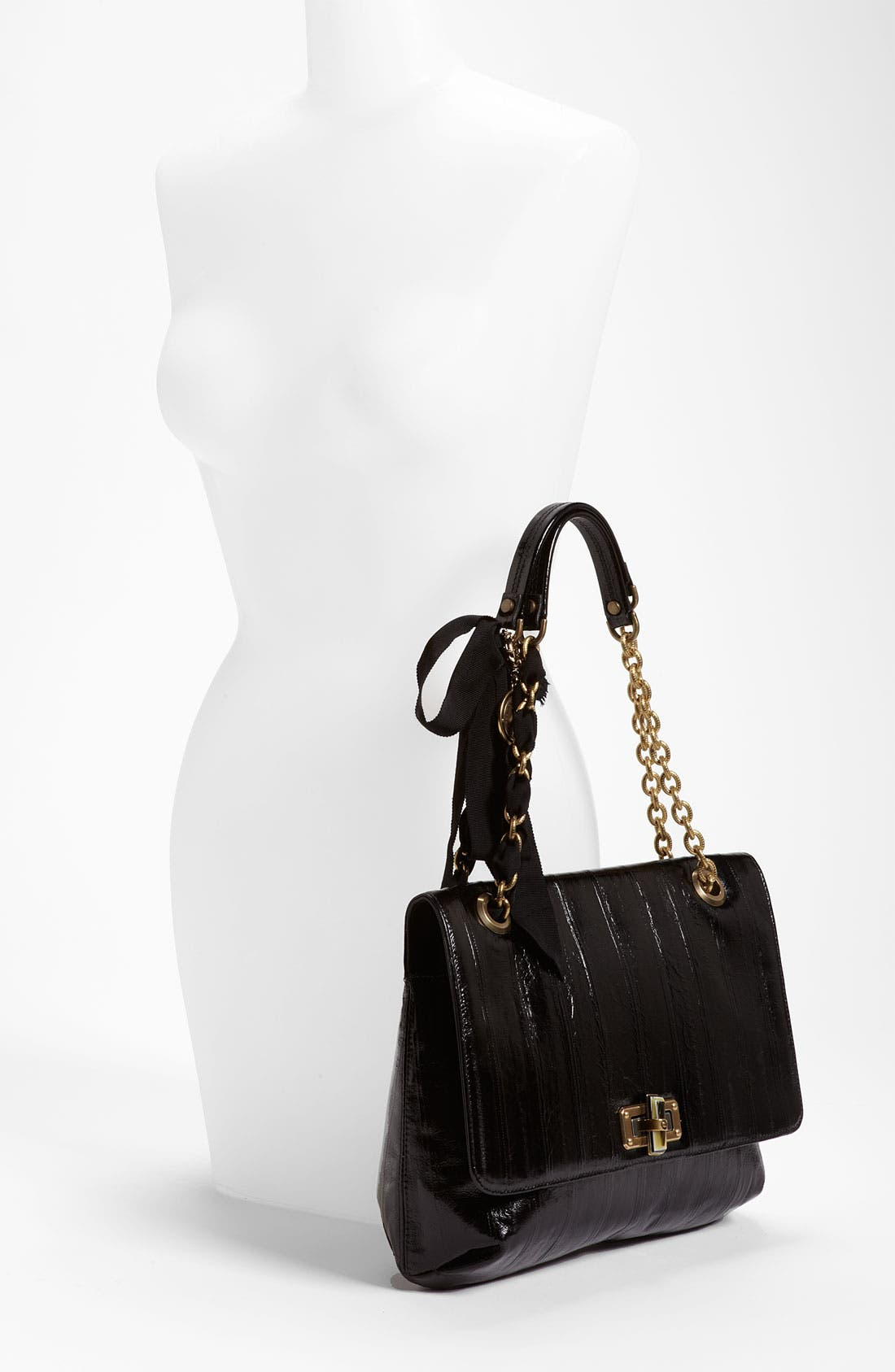 Alternate Image 2  - Lanvin 'Happy' Glazed Leather Shoulder Bag
