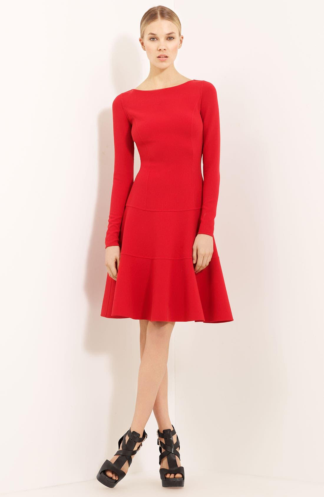 Main Image - Michael Kors Wool Crepe Dress
