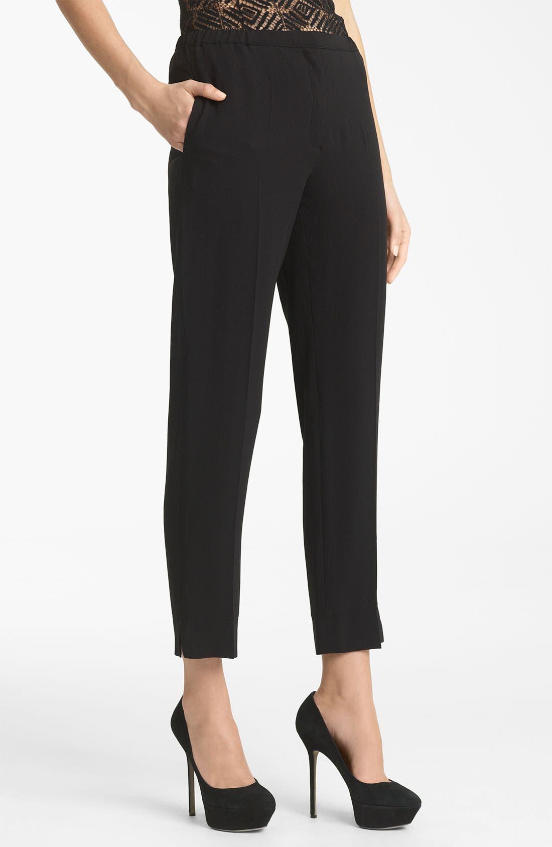 Alternate Image 1 Selected - Nina Ricci Silk Crepe Pants