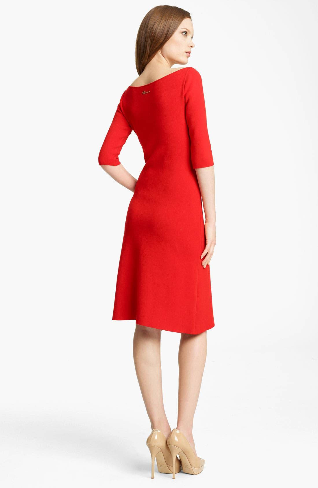 Alternate Image 2  - Blumarine Sponge Knit Dress