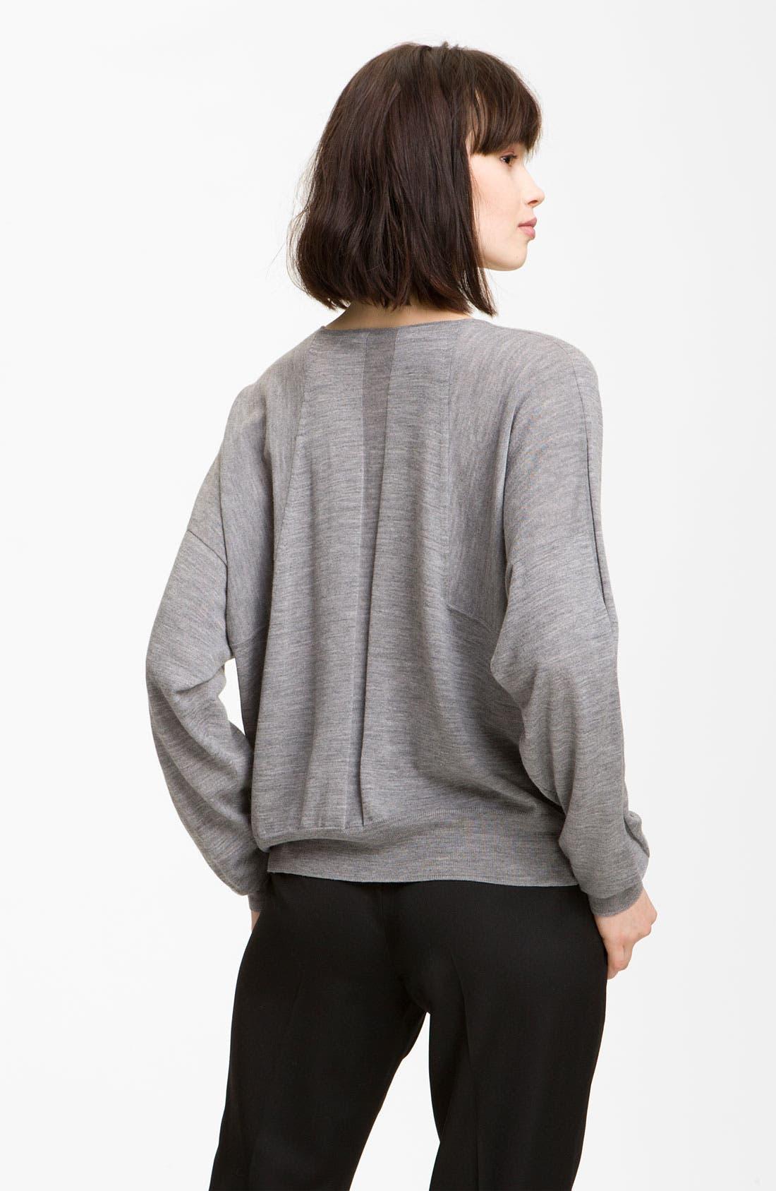 Alternate Image 2  - Alexander Wang Crop Merino Wool Top