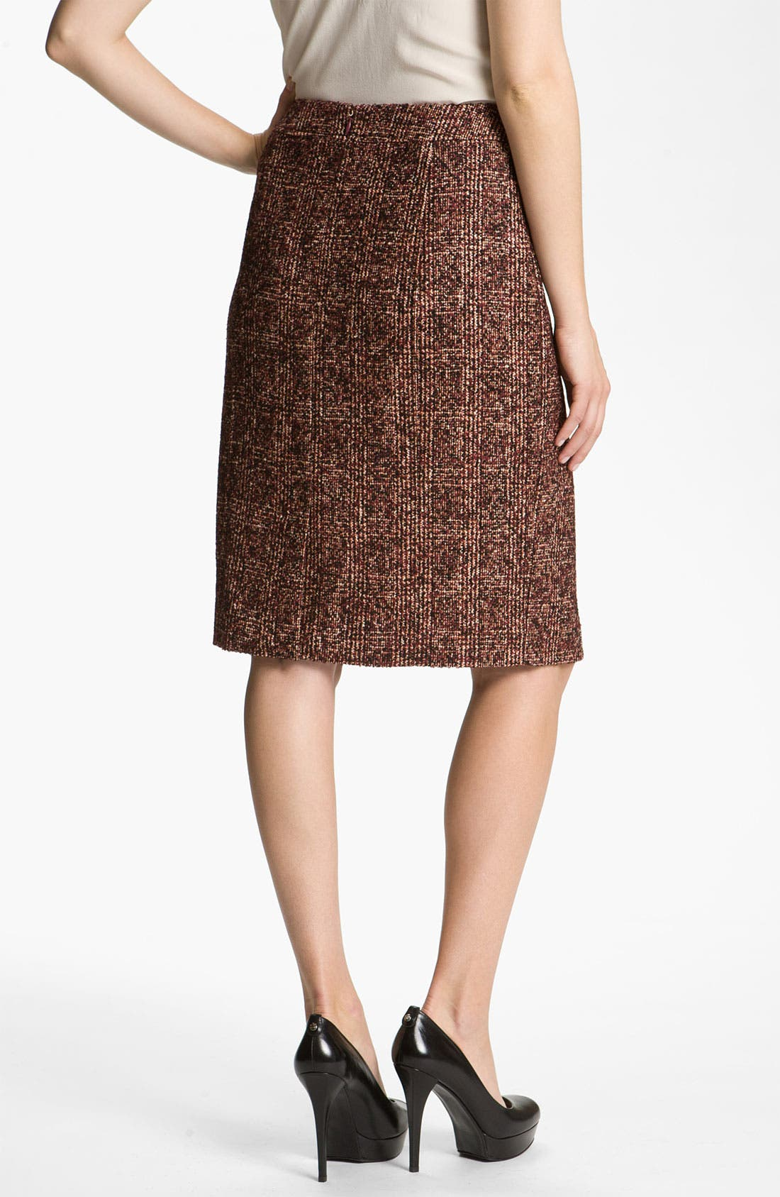 Alternate Image 2  - Nordstrom Collection 'Cambon' Tweed Pencil Skirt