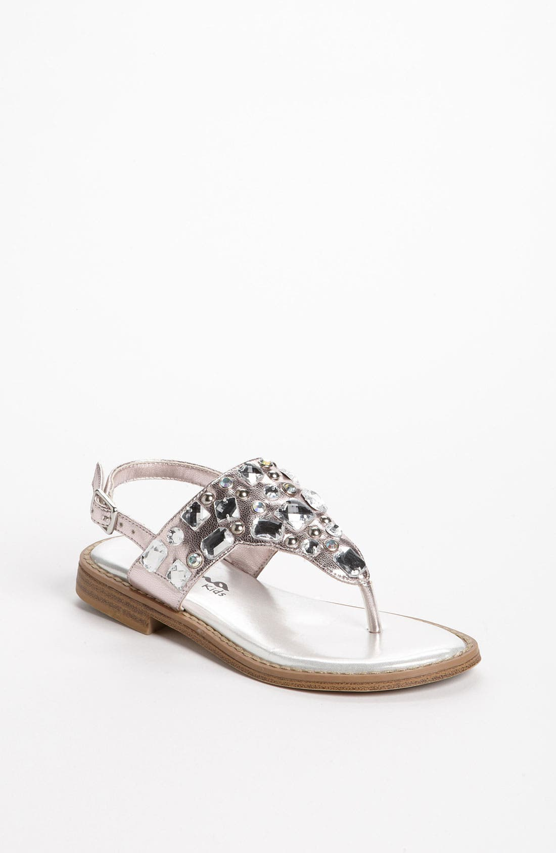Alternate Image 1 Selected - Nina 'Jewel' Sandal (Walker, Toddler, Little Kid & Big Kid)
