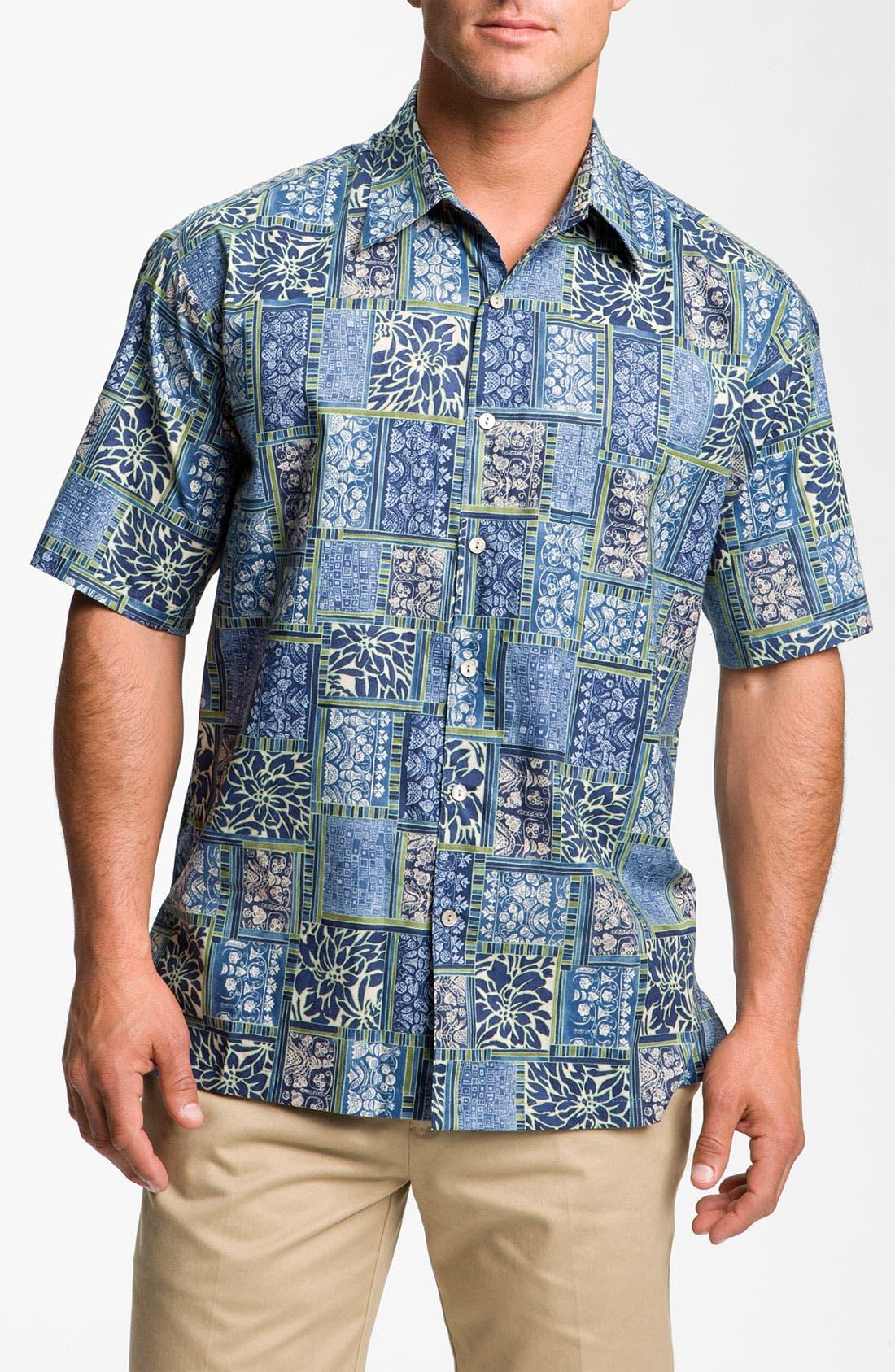 Alternate Image 1 Selected - Tori Richard 'Boxwood' Cotton Lawn Sport Shirt