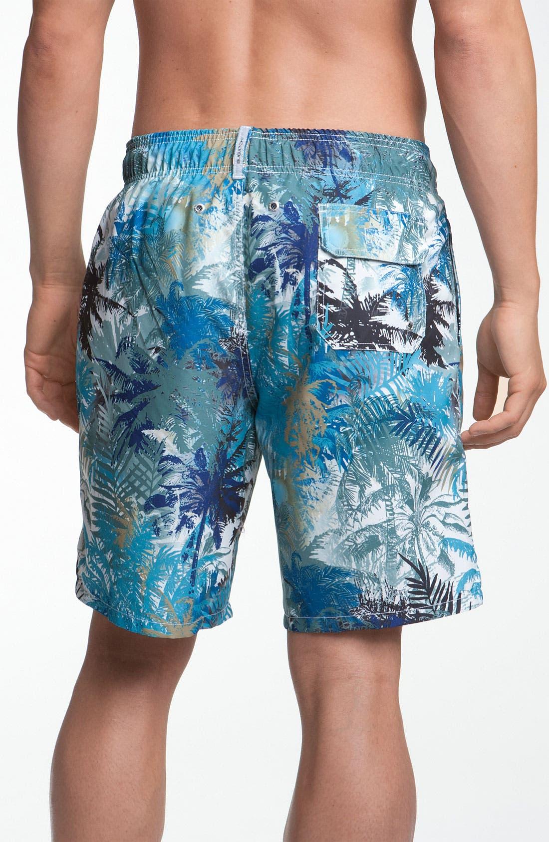 Alternate Image 2  - Bugatchi Uomo Volley Swim Shorts