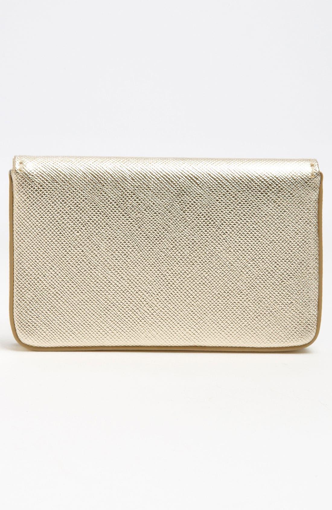 Alternate Image 4  - Halogen® Leather Card Case