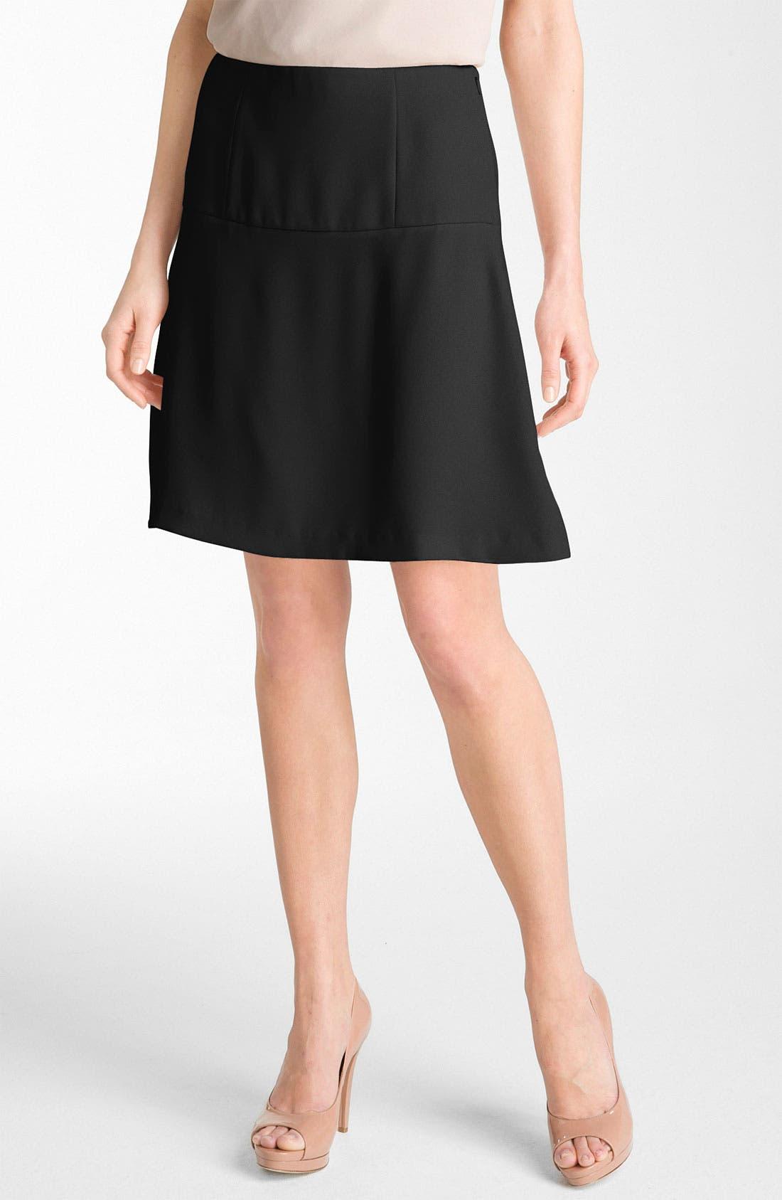 Main Image - Theory 'Salda - Vamp' A-Line Skirt