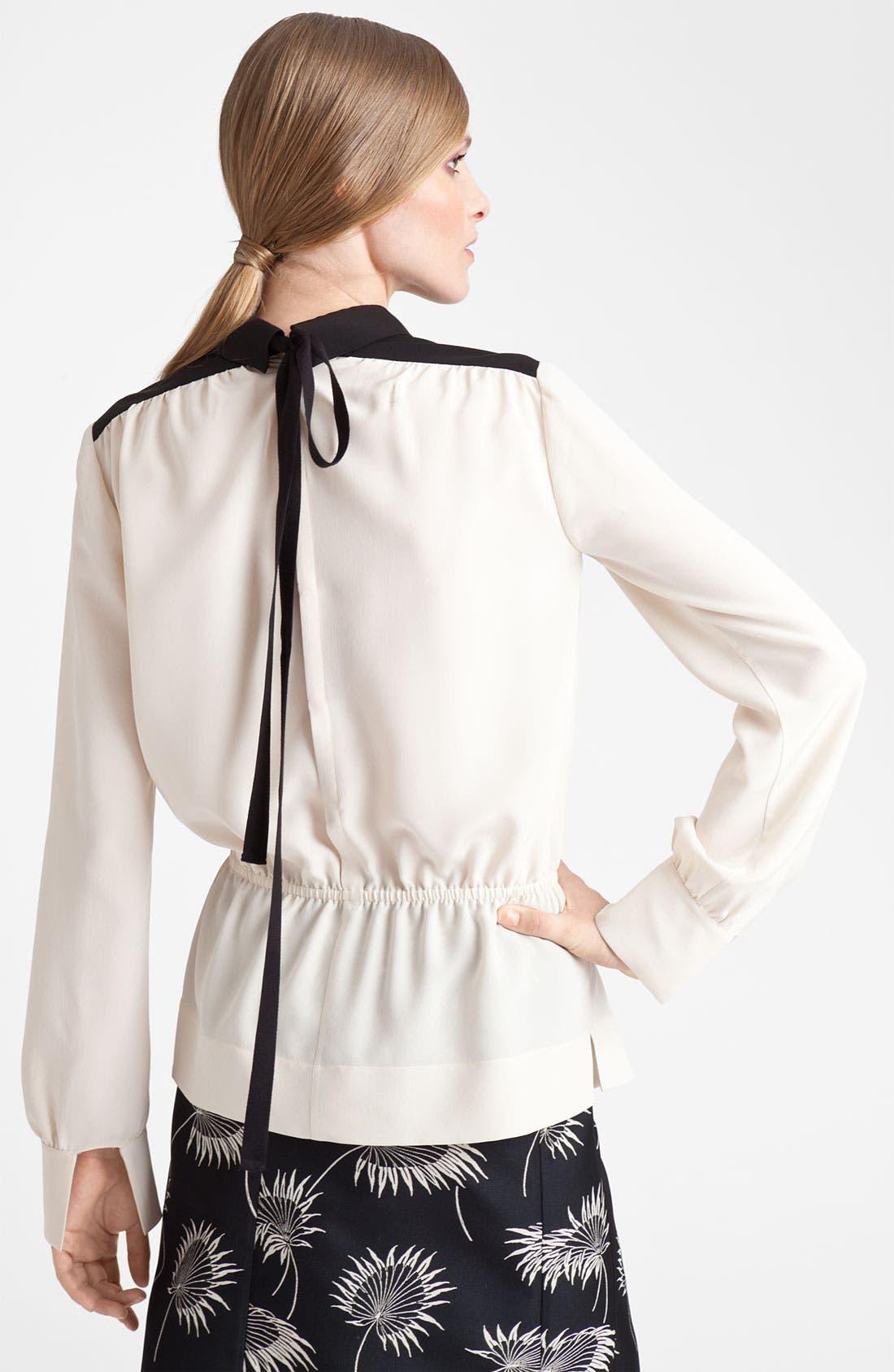 Alternate Image 2  - Marni Blouson Silk Top