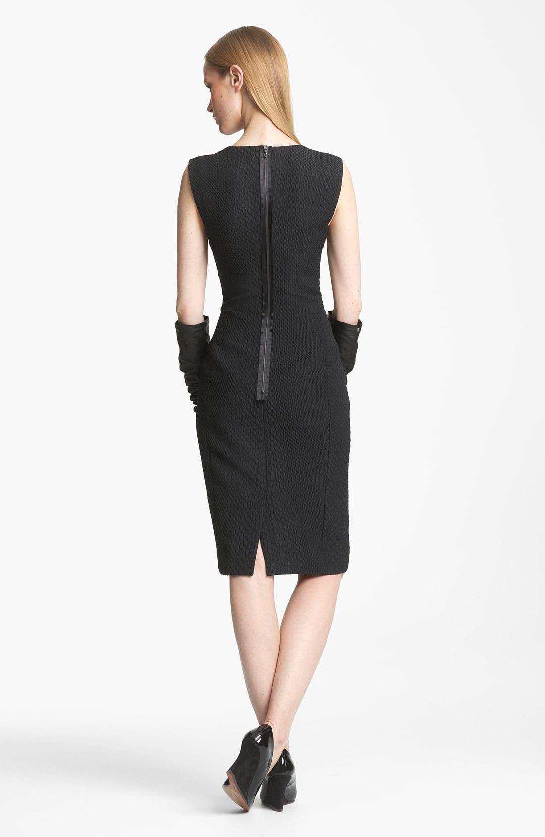 Alternate Image 2  - Lanvin Python Print Cloqué Jacquard Dress