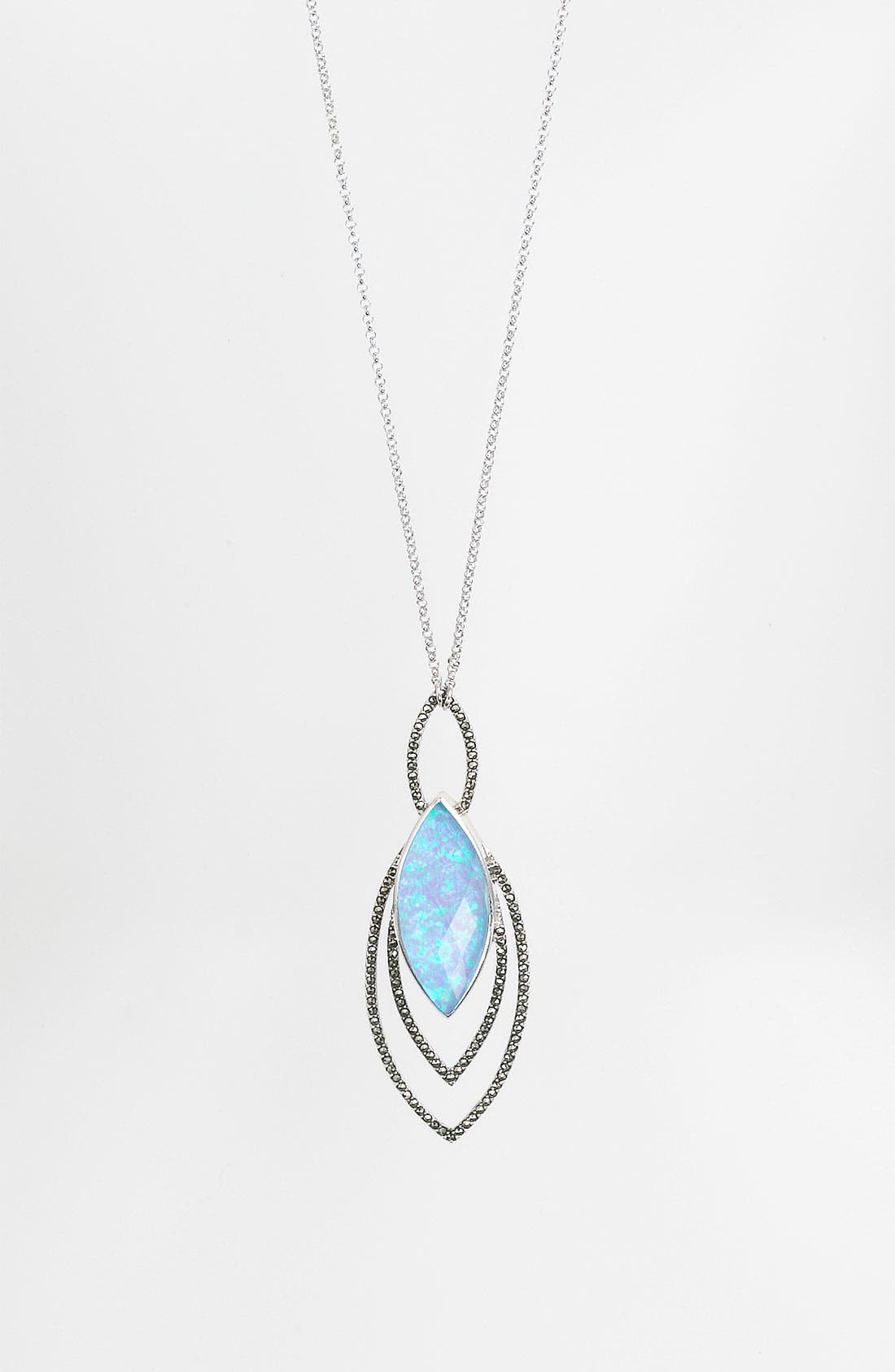 Alternate Image 1 Selected - Judith Jack 'Lagoon' Convertible Pendant Necklace