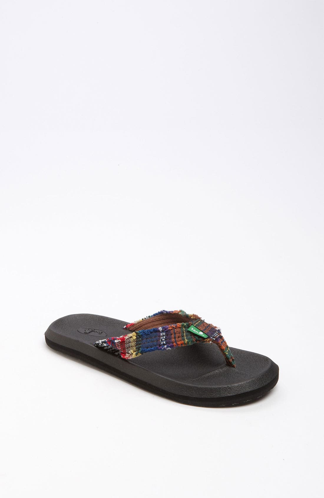 Alternate Image 1 Selected - Sanuk 'Who's Afraid' Flip Flop (Toddler, Little Kid & Big Kid)