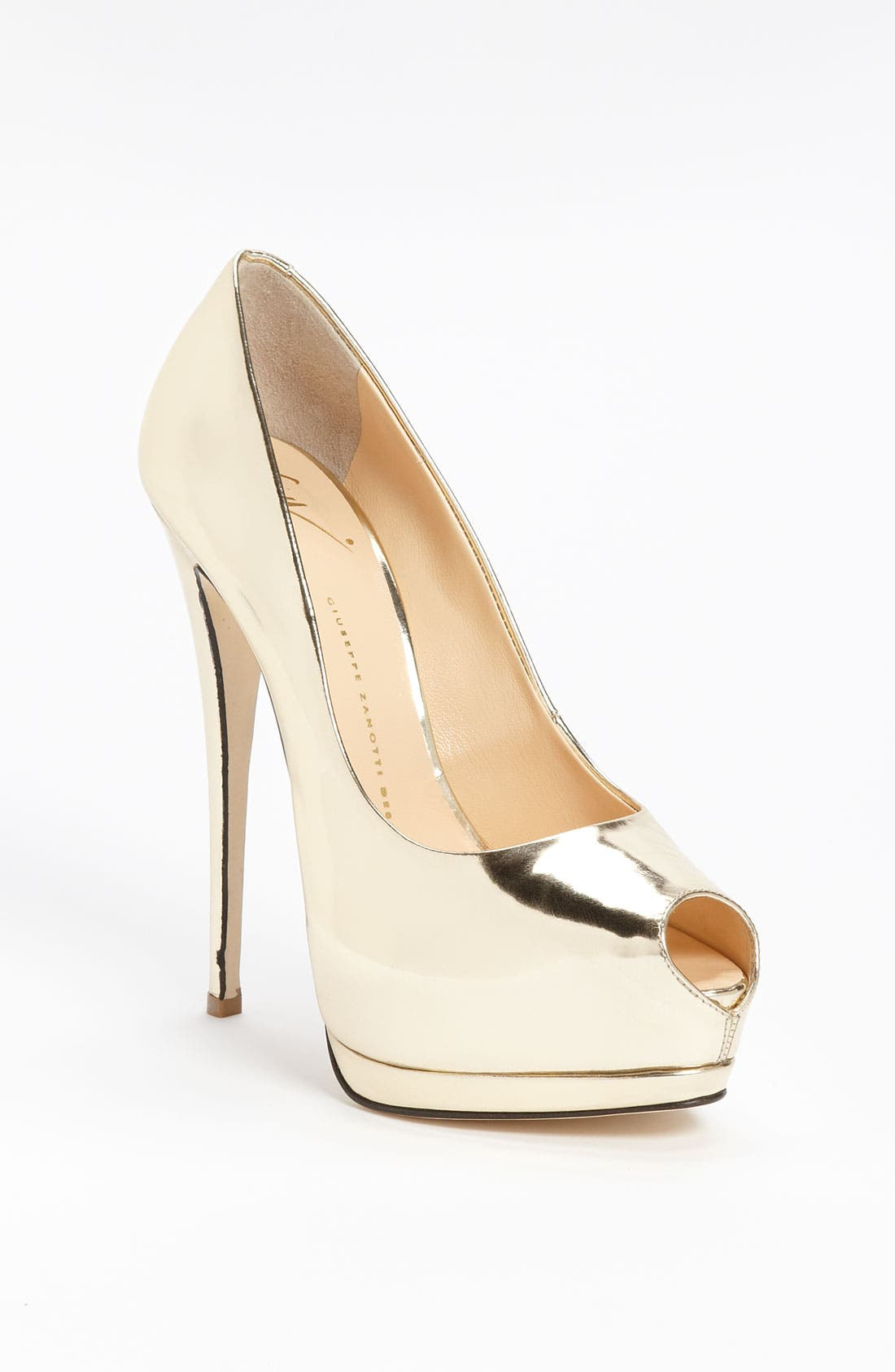 Alternate Image 1 Selected - Giuseppe Zanotti Open Toe Pump