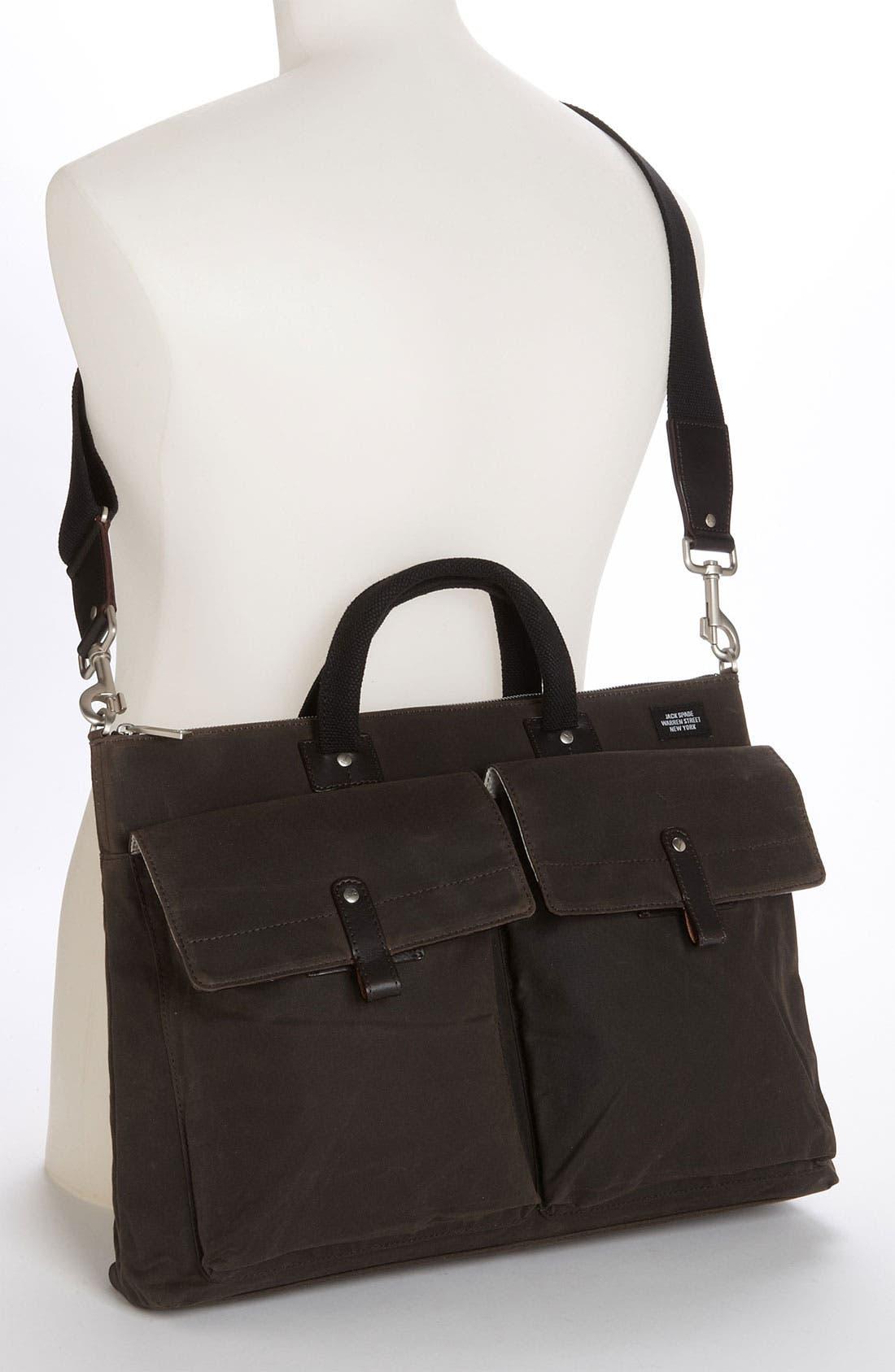 Alternate Image 4  - Jack Spade 'Waxwear' Canvas Pocket Briefcase