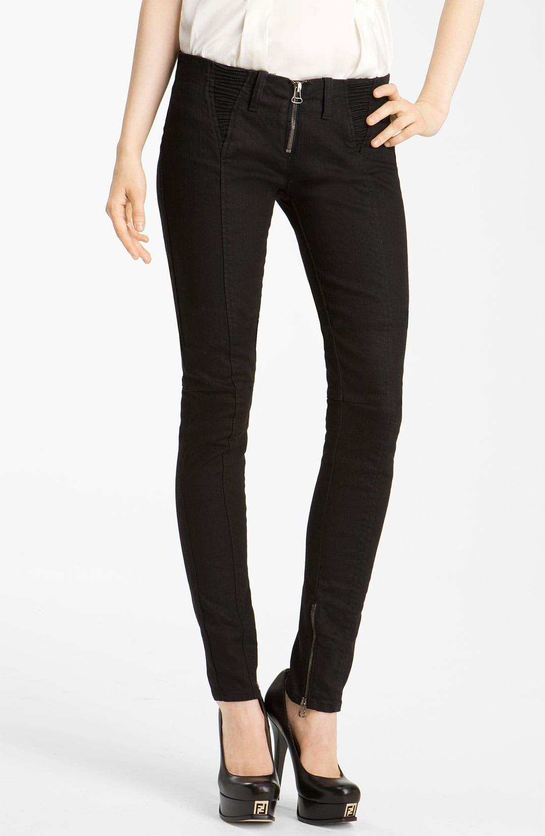Alternate Image 1 Selected - Pierre Balmain Skinny Stretch Denim Jeans