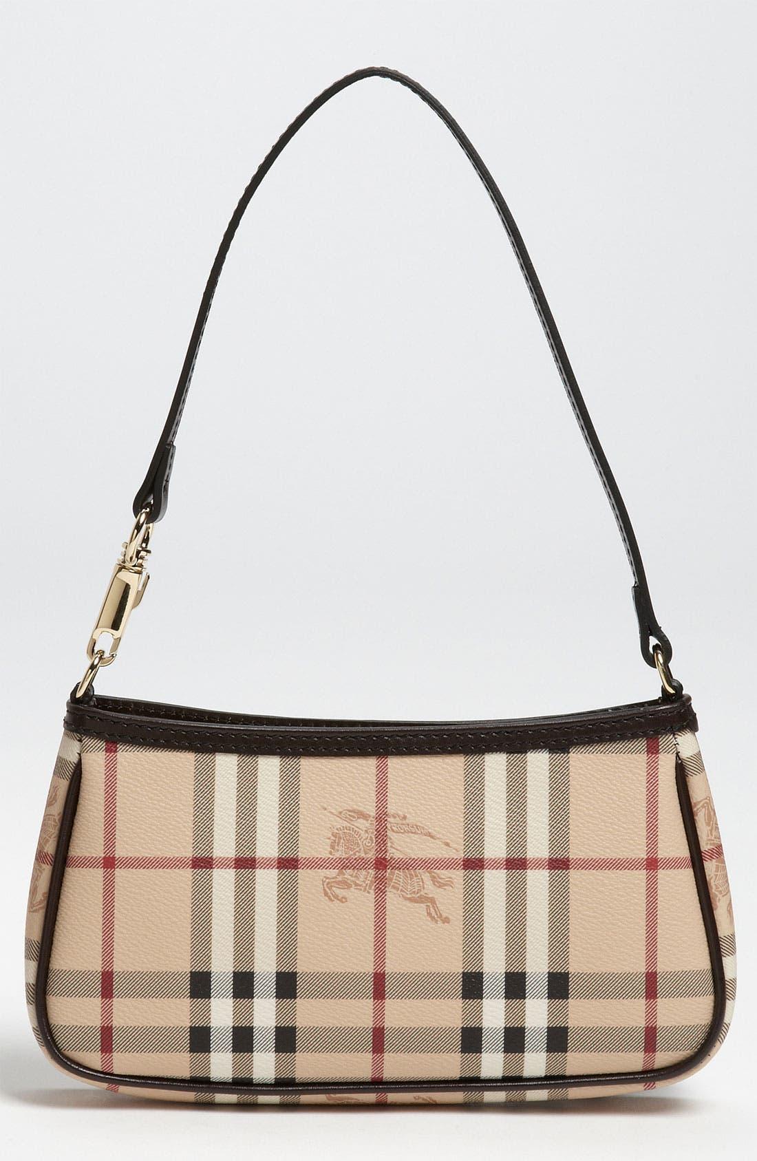 Main Image - Burberry 'Haymarket Check' Mini Shoulder Bag