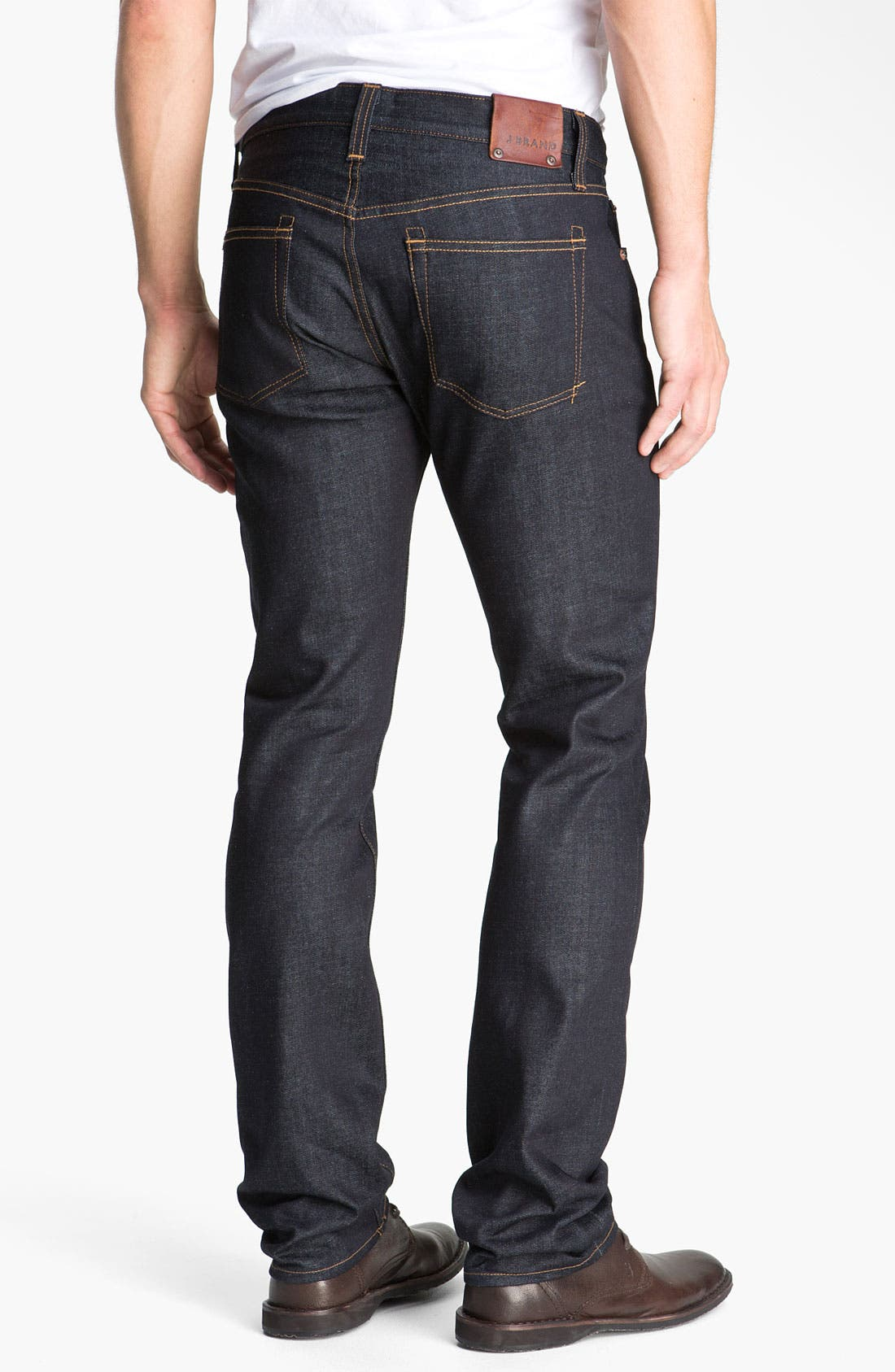 Alternate Image 2  - J Brand Kane Slim Straight Leg Jeans (Raw)