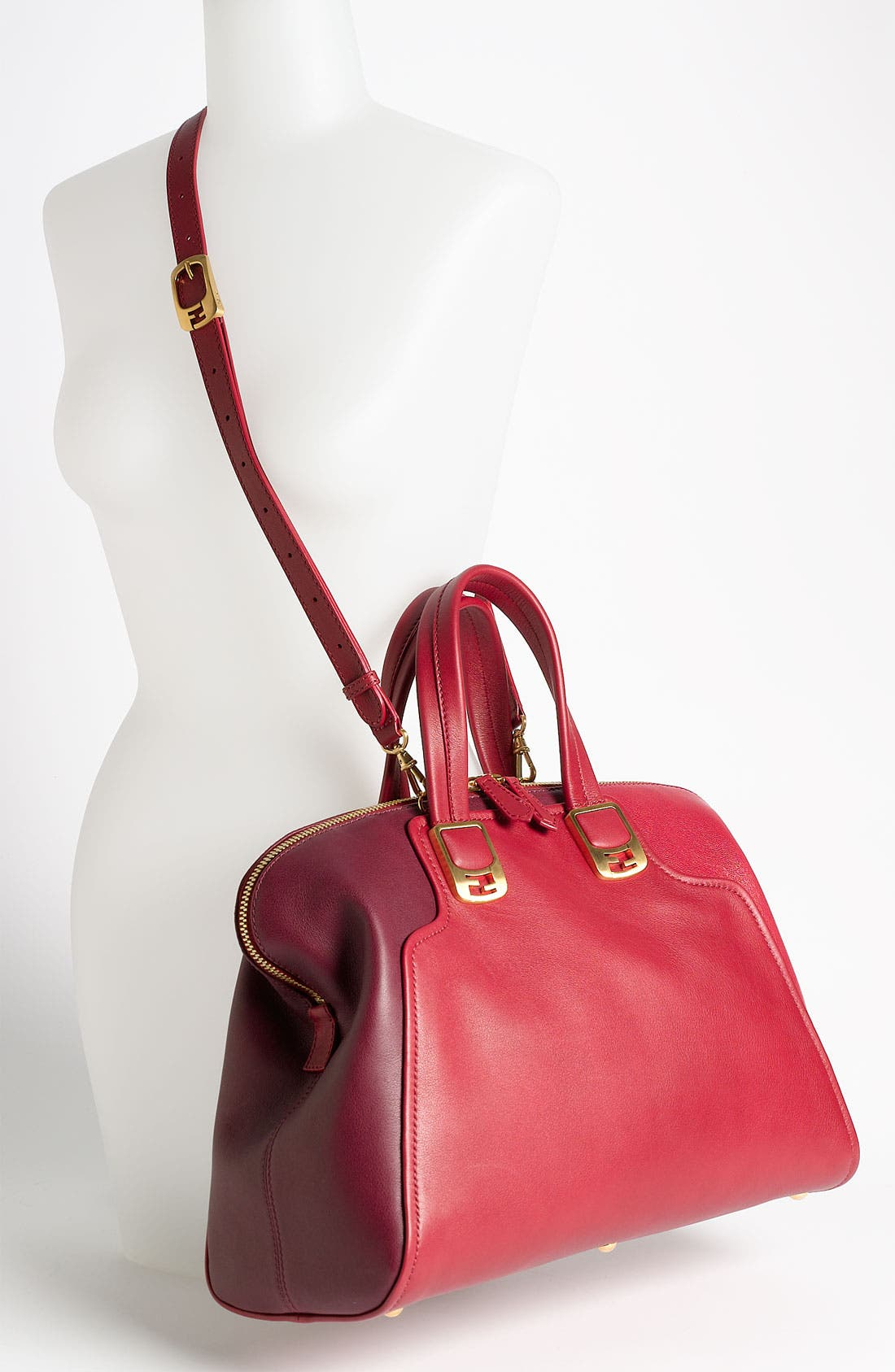 Alternate Image 2  - Fendi 'Chameleon Colorblock' Leather Tote
