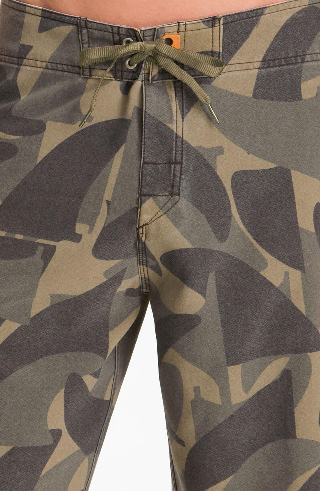 Alternate Image 3  - Quiksilver Waterman 'Camofin' Board Shorts