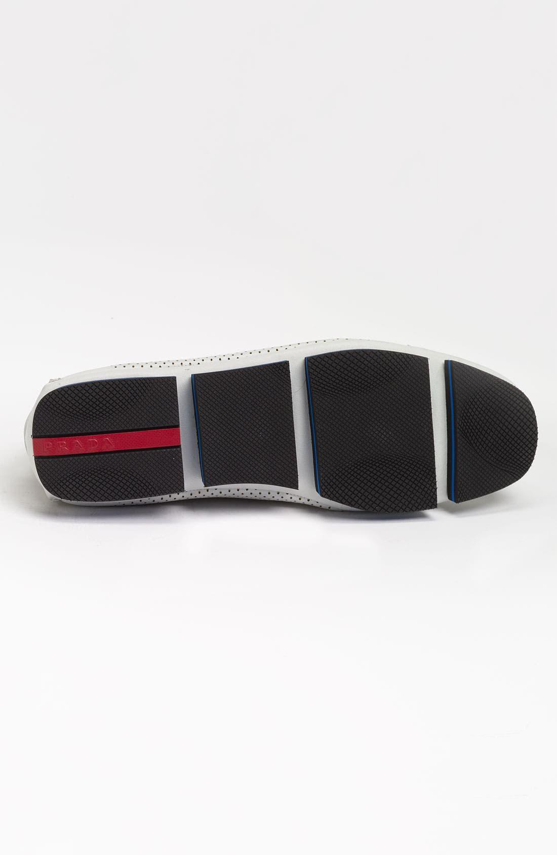 Alternate Image 4  - Prada Perforated Sneaker
