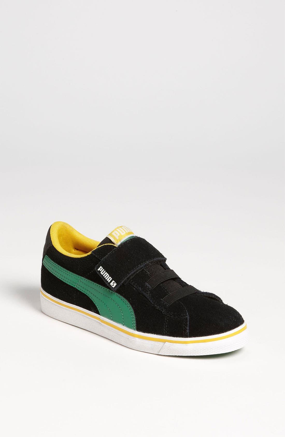 Alternate Image 1 Selected - PUMA 'S Vulc V' Sneaker (Baby, Walker & Toddler)