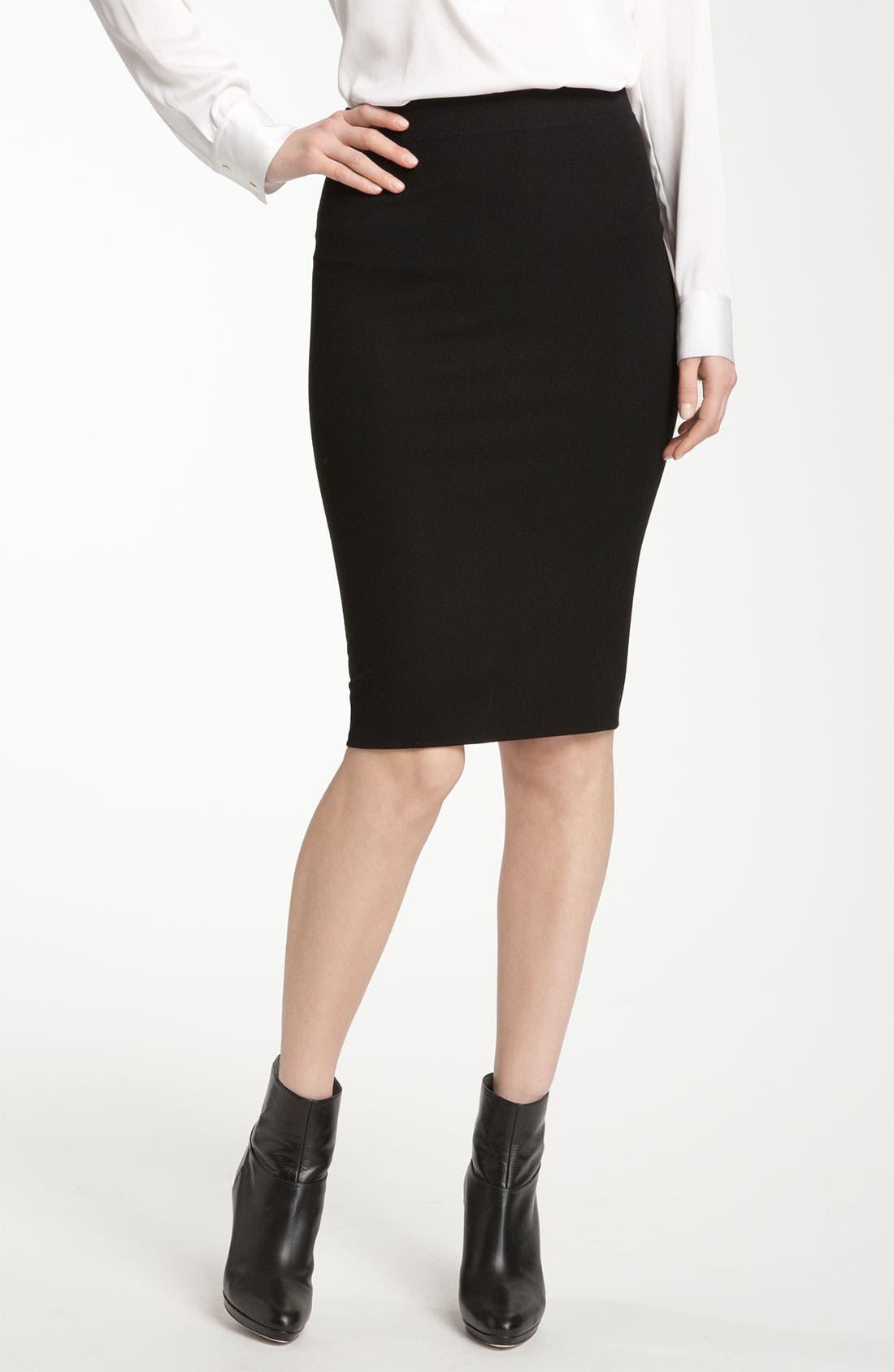 Alternate Image 1 Selected - Vince Knit Pencil Skirt