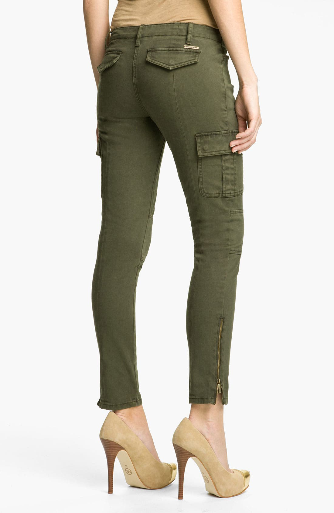 Alternate Image 2  - MICHAEL Michael Kors Skinny Cargo Pants