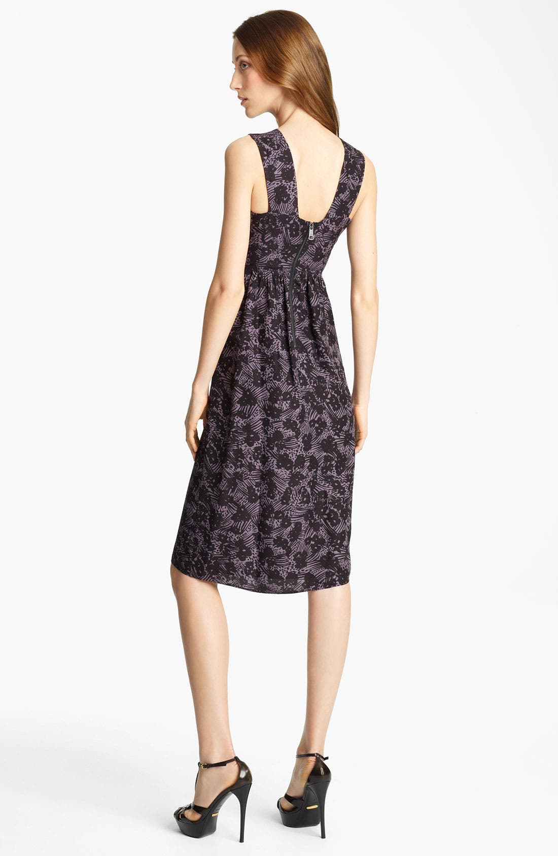 Alternate Image 2  - Burberry London Floral Print Dress