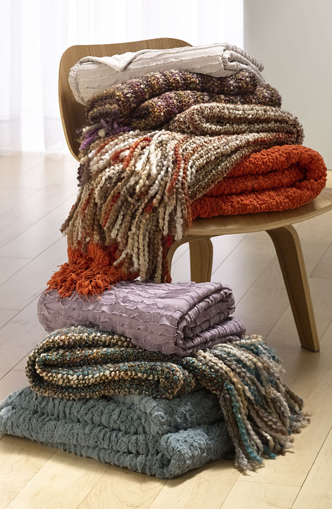 Alternate Image 4  - Kennebunk Home 'Ruffles' Throw (Nordstrom Exclusive)