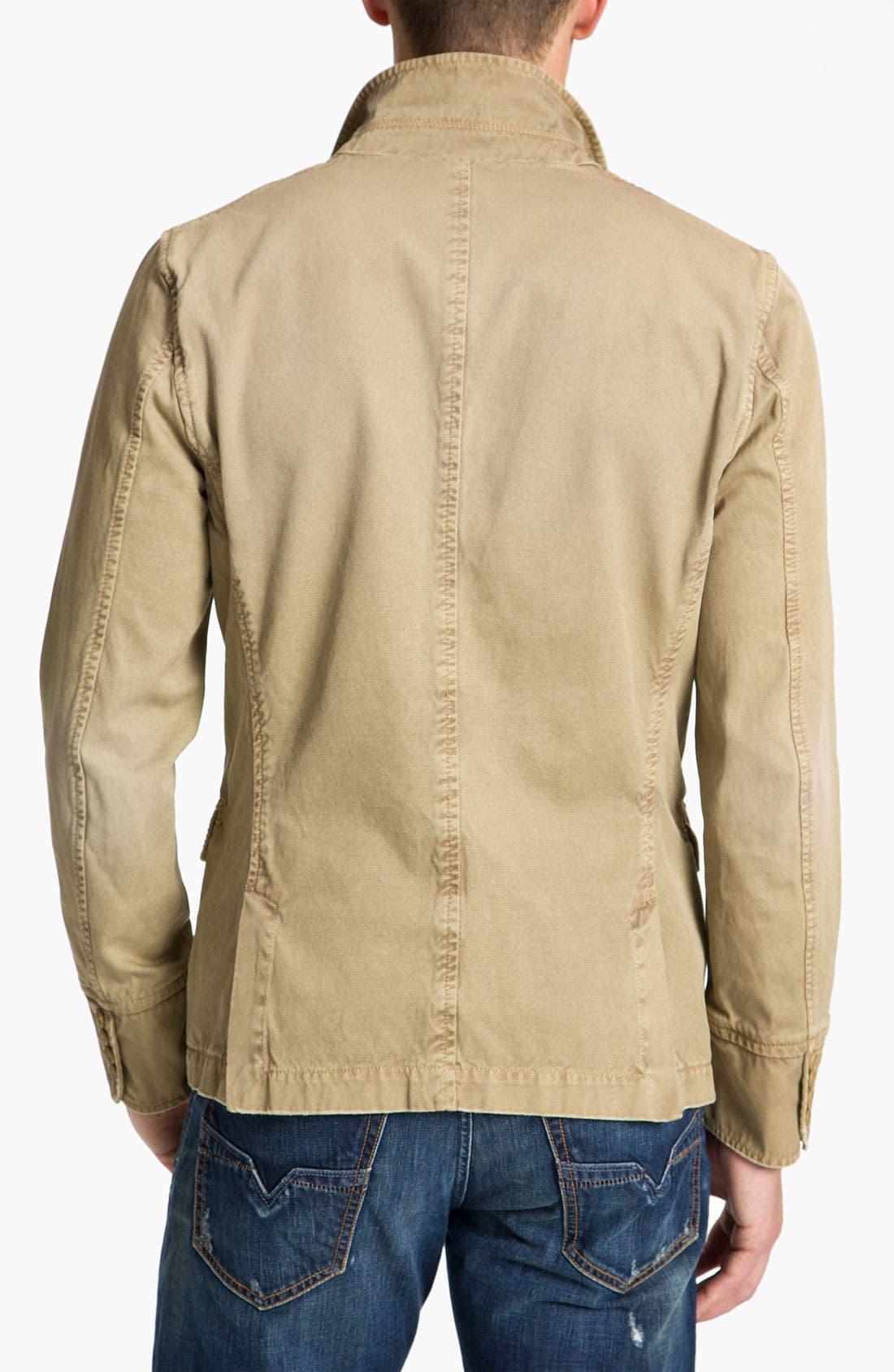 Alternate Image 2  - DIESEL® 'Jelevand' Cotton Twill Blazer