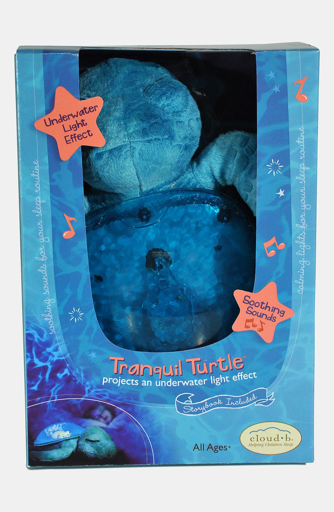 Alternate Image 3  - Cloud B 'Tranquil Turtle' Night Light
