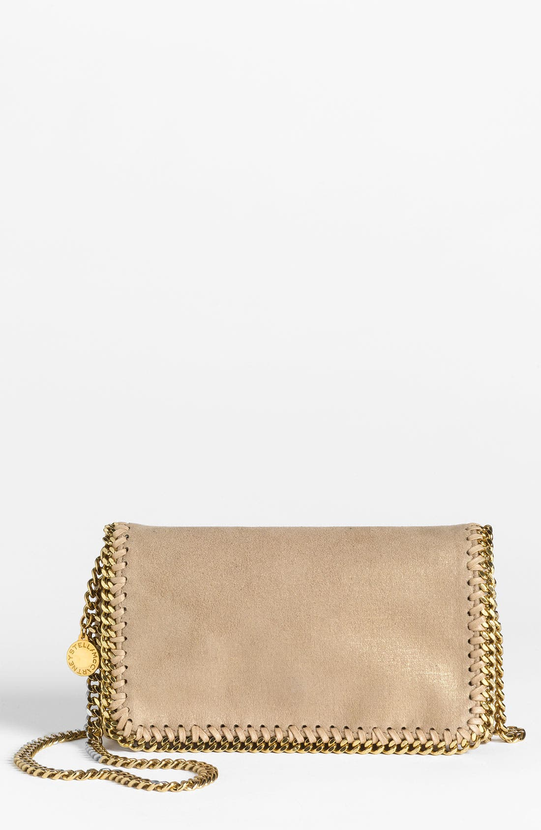 Main Image - Stella McCartney 'Falabella' Faux Suede Crossbody Bag