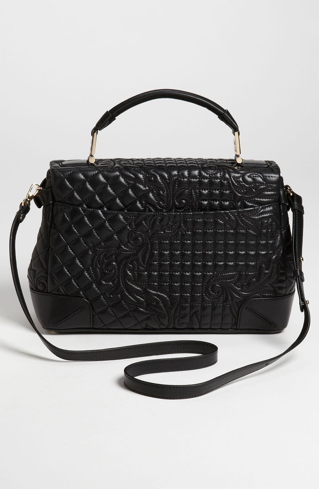 Alternate Image 4  - Versace 'Vanitas' Embroidered Nappa Lambskin Leather Satchel